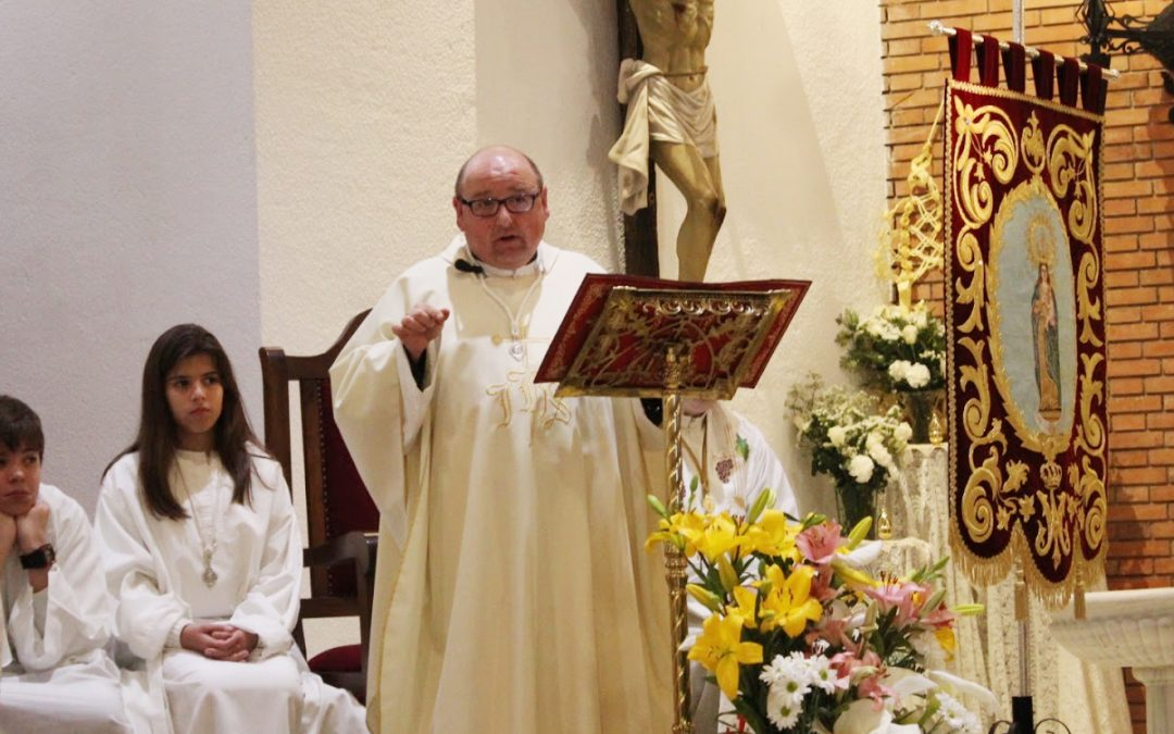 Agustín Rodríguez, nuevo párroco de San Pedro