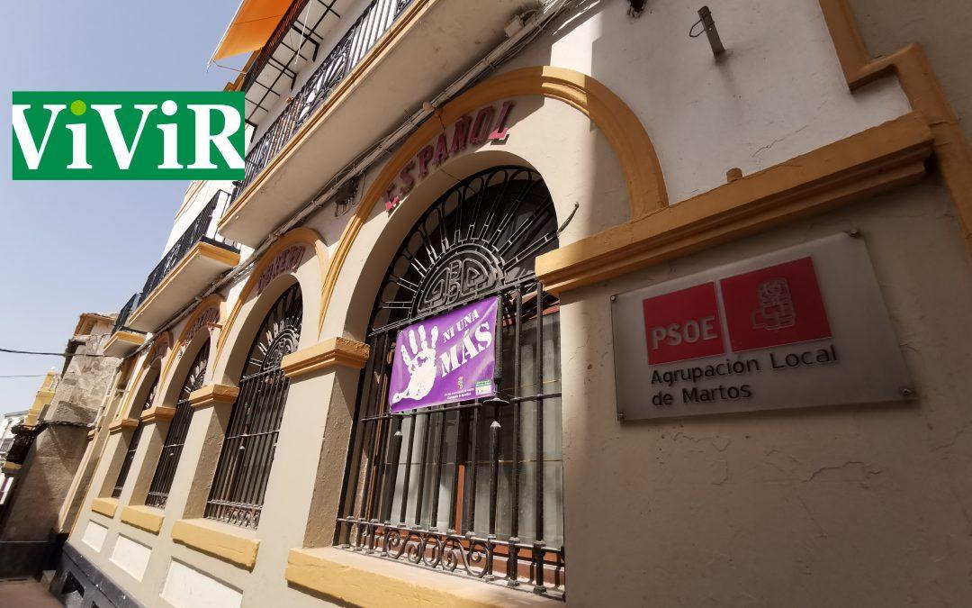 Satisfacción en el PSOE de Martos por la bajada del IVA de la luz