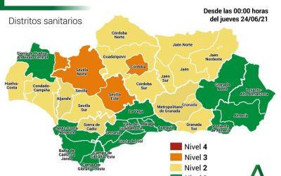 La tasa de incidencia en Jaén se queda en 131, la segunda más baja de Andalucía
