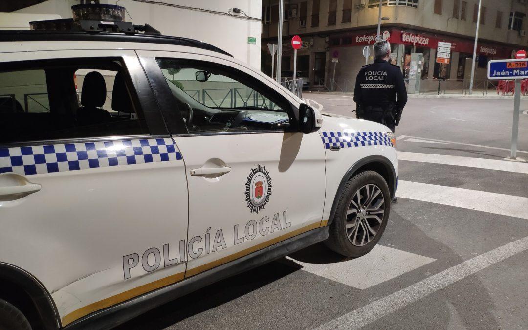 Detenido en Torredelcampo por mezclar un arma blanca con alcohol