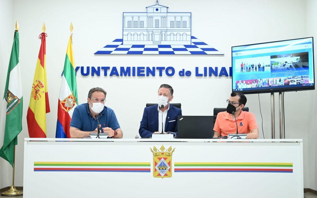 Una web para la comunidad educativa de Linares