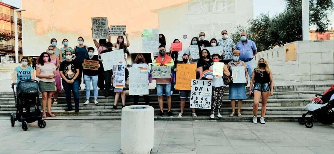 La Carolina alzó la voz contra la homofobia