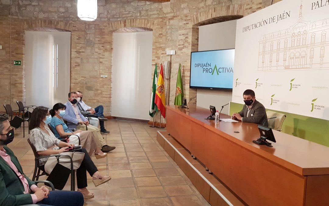 Diputación presenta el Plan DipuJaén Proactiva