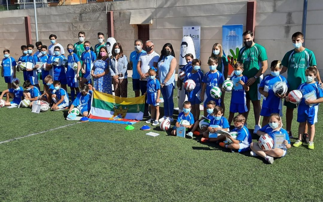 Inaugurada la Escuela de Verano de Fútbol de Linares