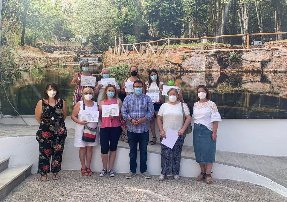 Las mujeres castilleras concluyen con éxito el curso de Jardinería y Poda