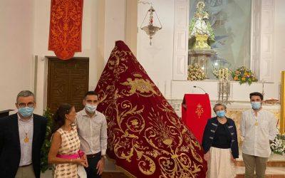 Presentados el Cartel y el 'Manto Real' de la Virgen de la Fuensanta
