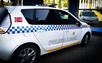 Agentes de la Policía Local intervienen en una fiesta que se celebraba en una nave de la ciudad