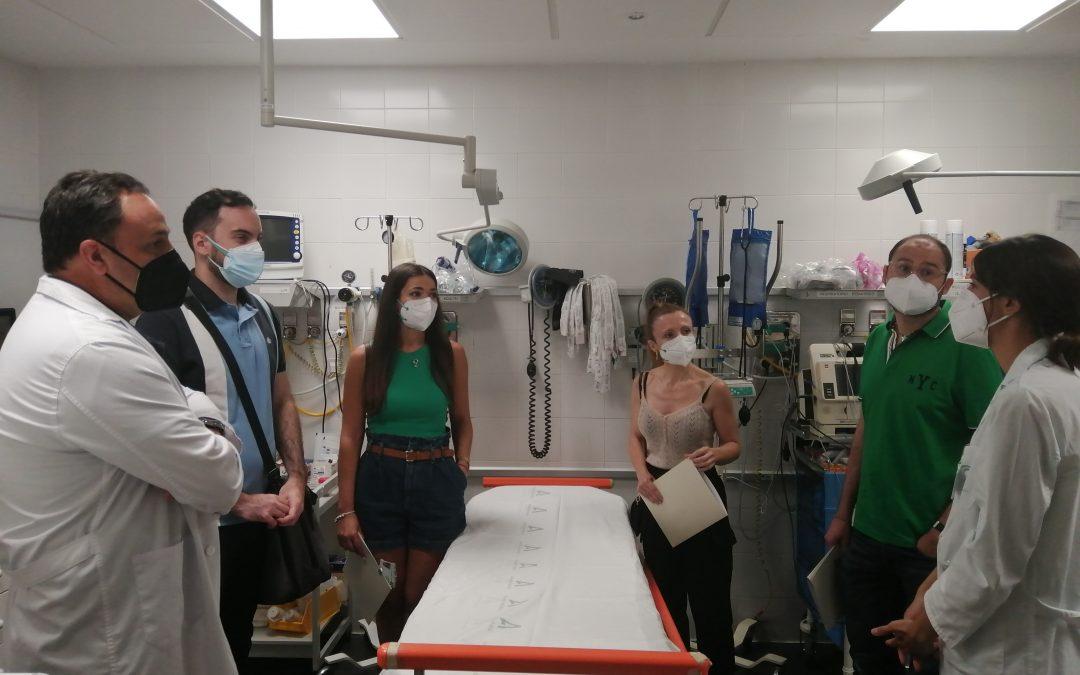 El Hospital Alto Guadalquivir recibe a cuatro nuevos especialistas internos residentes
