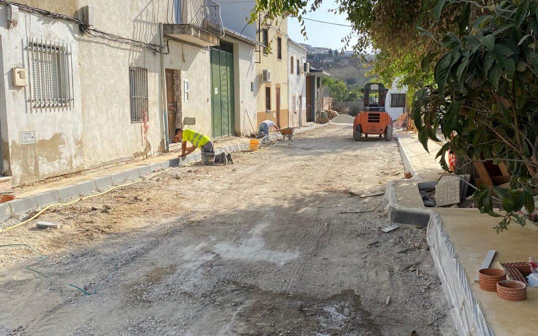 Nueva inversión de 60.000 euros en la calle Arrabal de San Martín