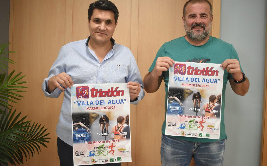 """Marmolejo acogerá la XI Edición del Triatlón """"Villa del Agua"""""""