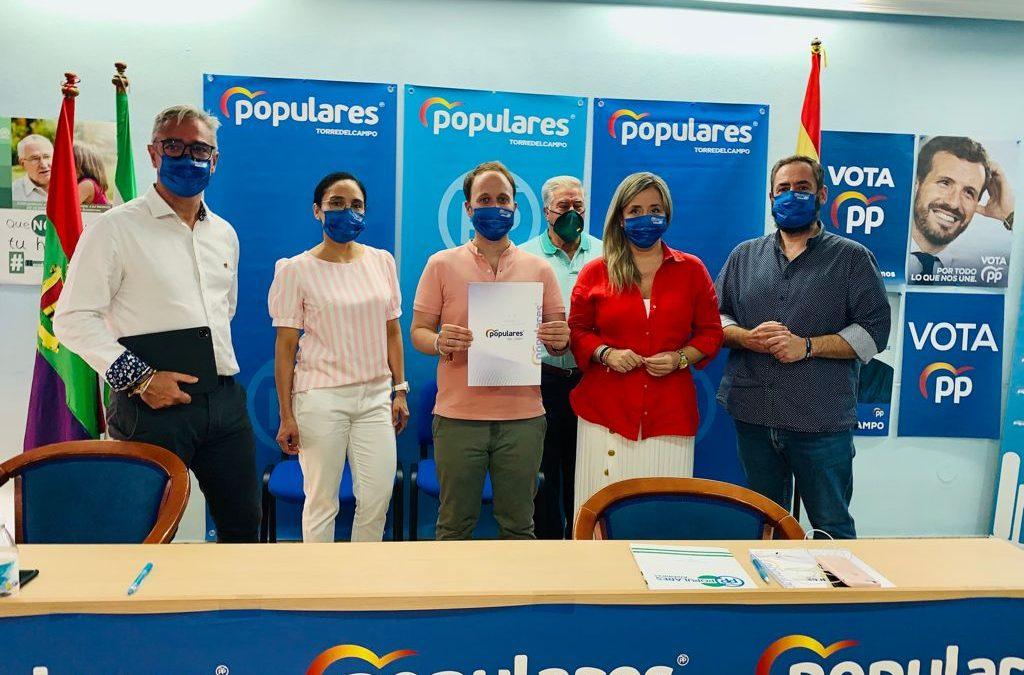 El PP reúne en Torredelcampo al nuevo Comité Ejecutivo provincial conformado por 180 personas