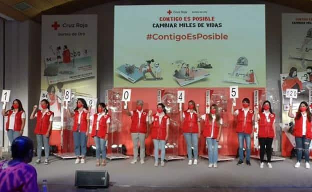 El Sorteo del Oro de la Cruz Roja deja 12.000 euros en Torredonjimeno