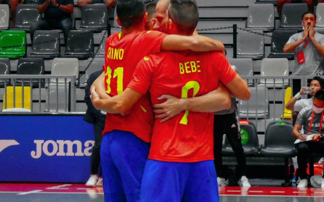España vence a Japón y se alza como campeón del Cuadrangular en el Olivo Arena