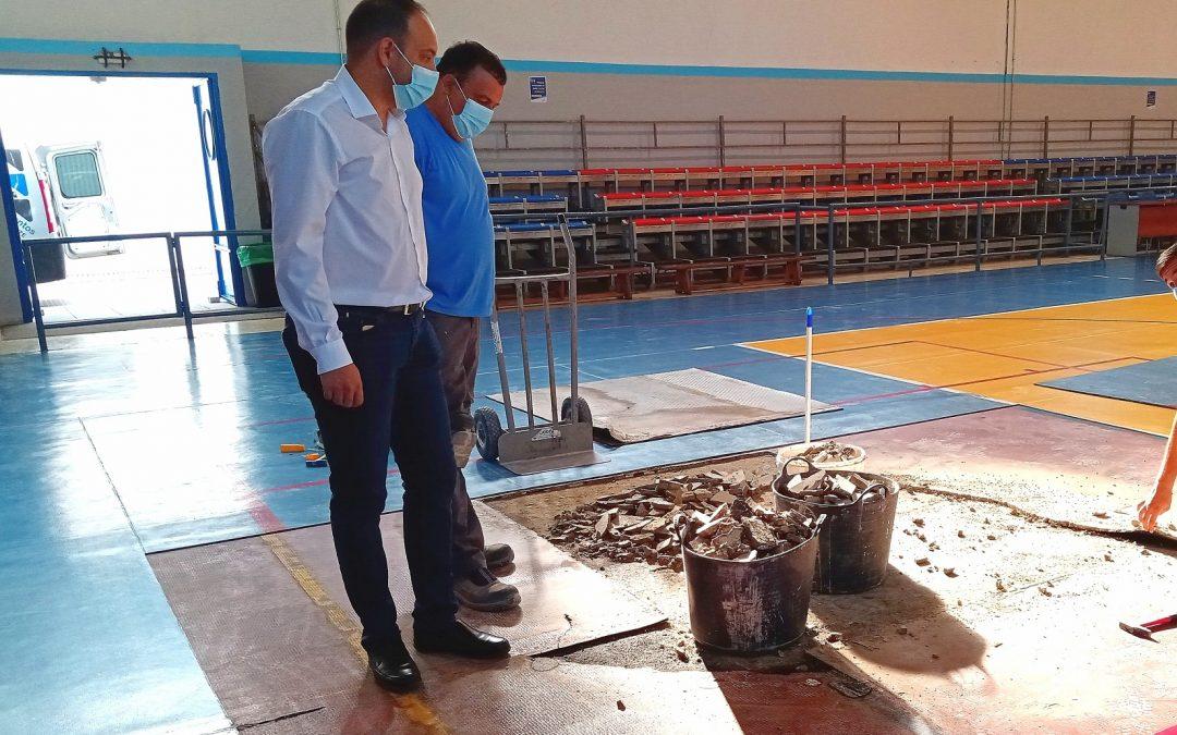 La adecuación y reforma de la pista del gimnasio del Polideportivo Municipal arranca en los próximos días