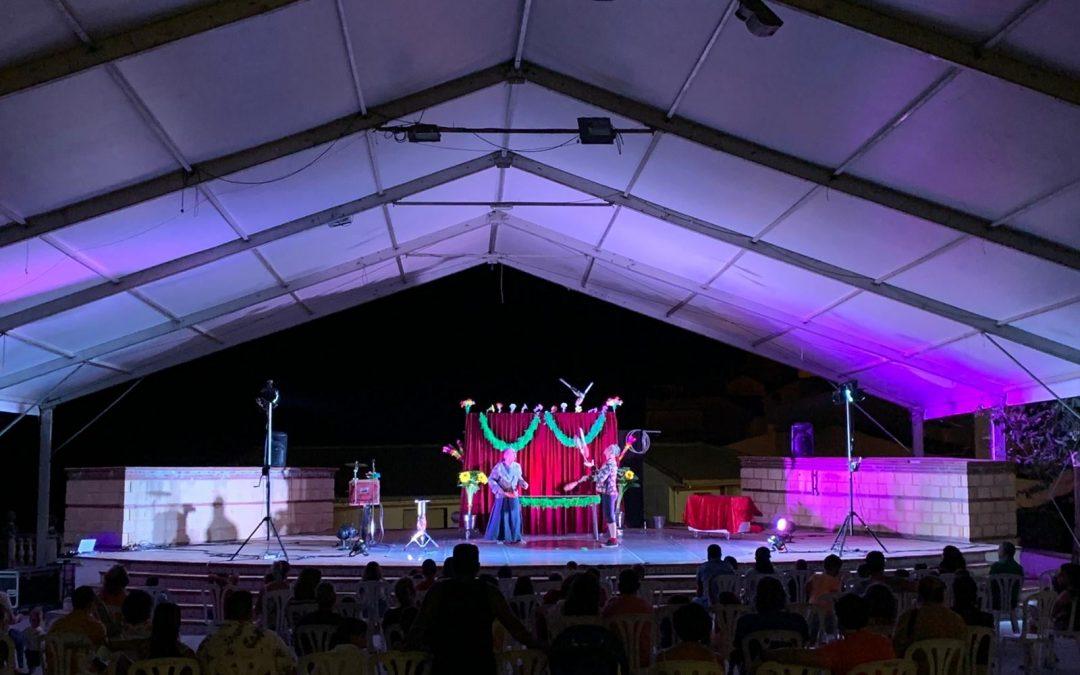 """Castillo de Locubín inauguró el programa """"Diviértete en agosto"""""""