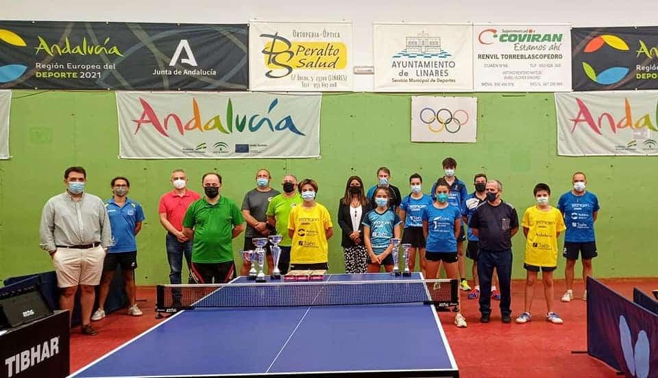 El tenis de mesa de Linares demostró una vez más su alto nivel
