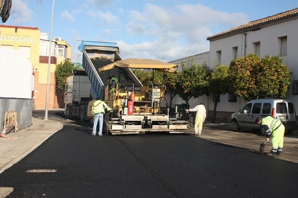 Obras en la calle Puerta de Córdoba