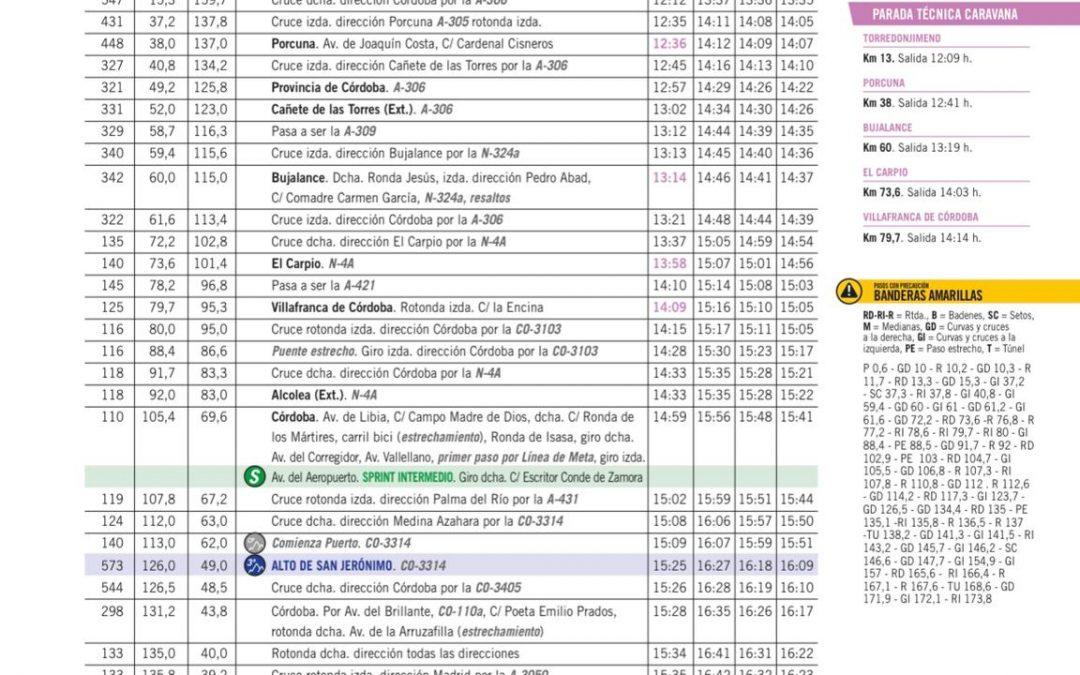 La Vuelta partirá desde Torredonjimeno el próximo 26 de agosto con la disputa de la 12ª etapa