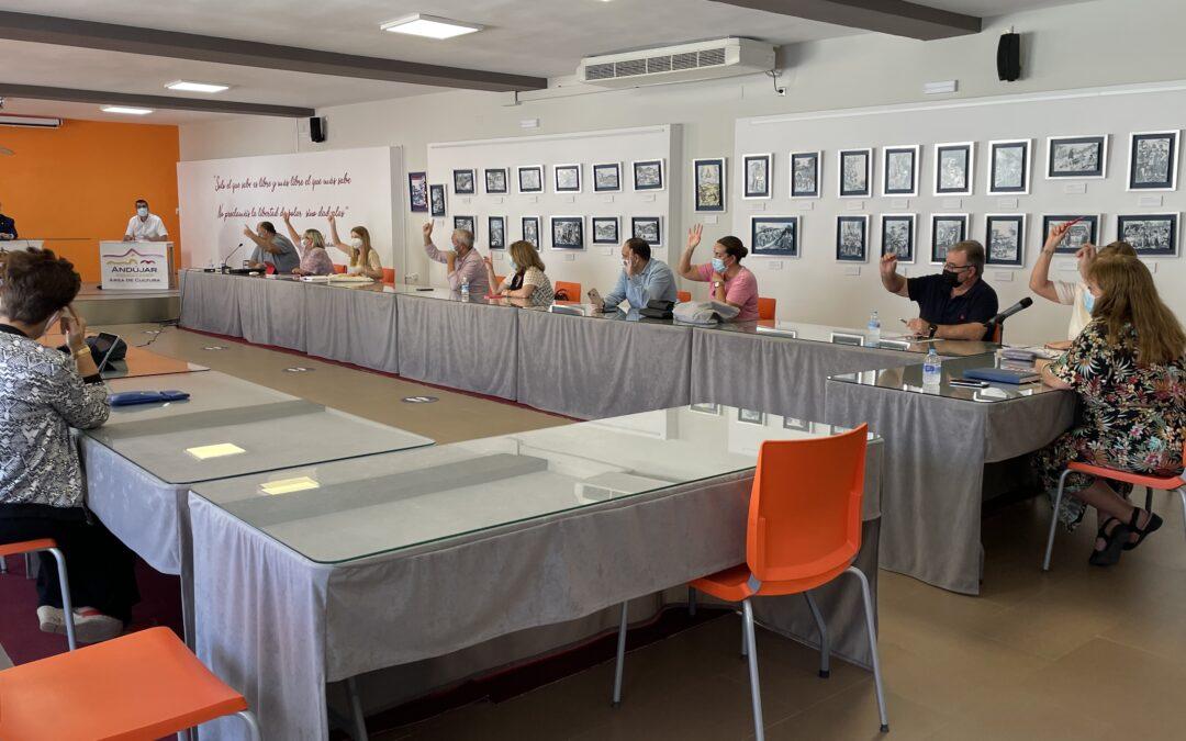 El Ayuntamiento de Andújar aprueba la ampliación del presupuesto destinado a la rehabilitación e insonorización del pabellón ferial
