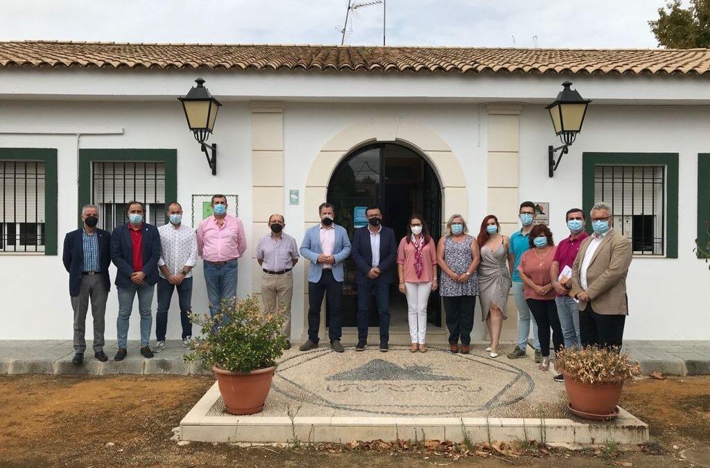 La Diputación se suma a la Asociación para la Promoción y el Desarrollo de la Vía Verde del Aceite