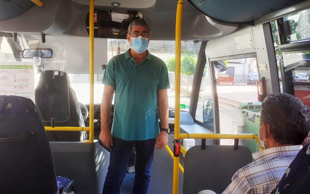 En Martos hoy es gratuito el bus urbano