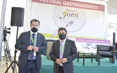 Los productos de Degusta Jaén protagonizan la zona gastronómica de Expoliva 2021