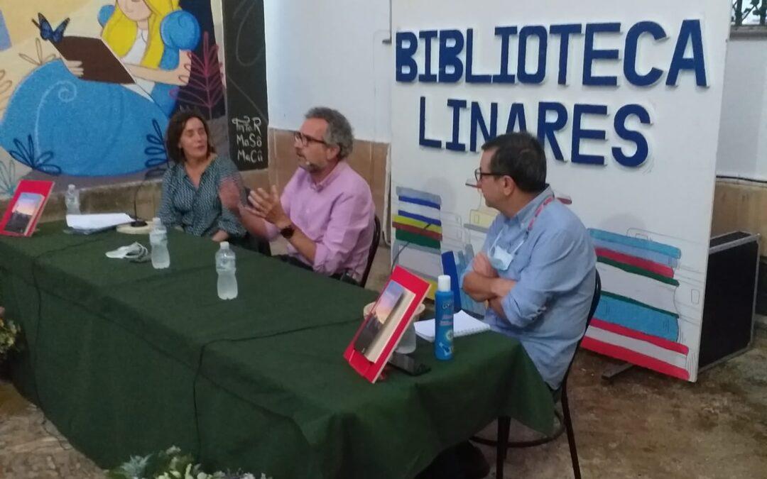 Andrés Ortiz presentó en Linares su nuevo trabajo