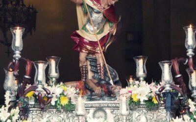 San Miguel Arcángel procesionará por las calles de Torredelcampo
