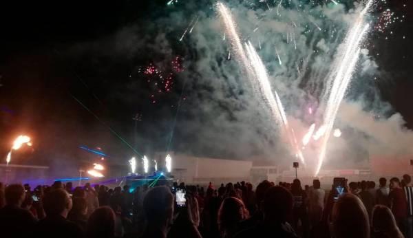 """Los fuegos en honor a los """"Santicos"""" serán este año en la Loma de los Santos y no habrá procesiones"""
