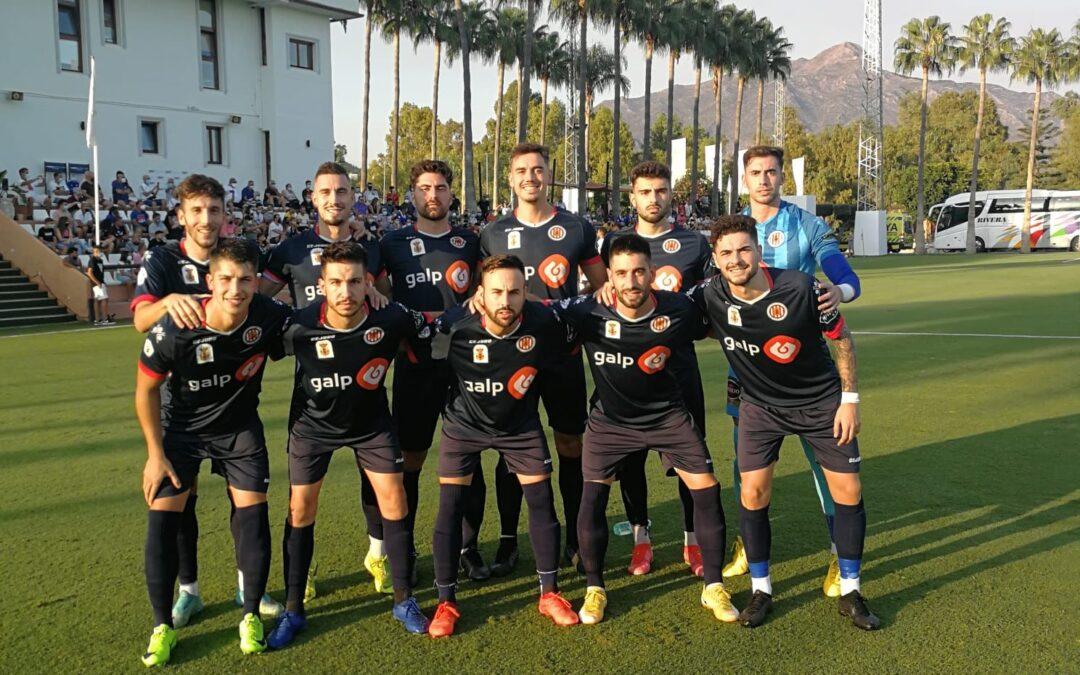 Puntazo del Torredonjimeno ante el 'todopoderoso' Marbella FC que sabe a poco