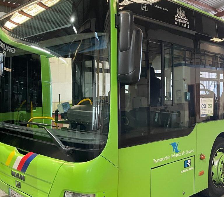 Los autobuses urbanos de Linares serán gratuitos mañana