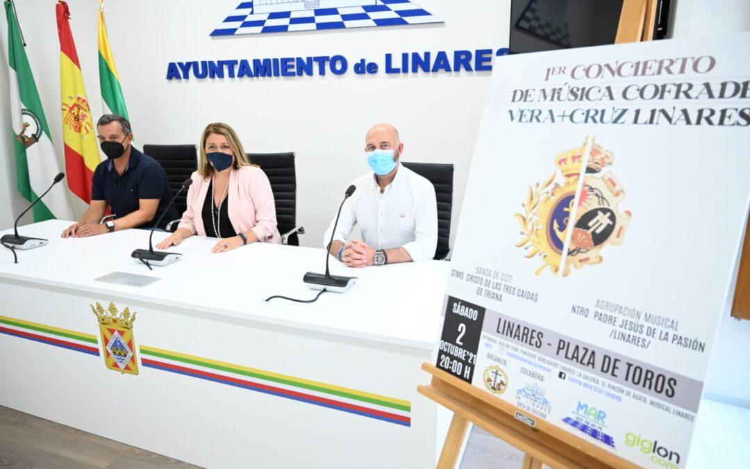Linares acogerá por primera vez un concierto de música cofrade