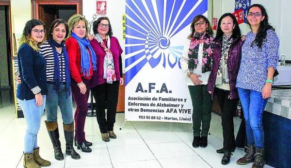 Martos conmemora la Semana Internacional del Alzheimer