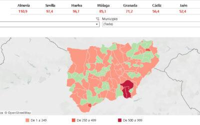 Solo quedan cuatro municipios en riesgo extremo en Jaén