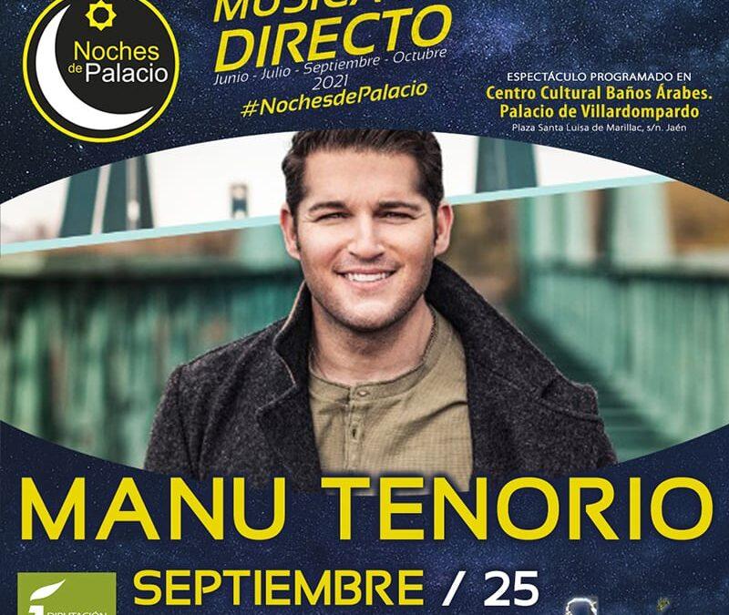 """Manu Tenorio actuará el sábado en """"Noches de Palacio"""""""