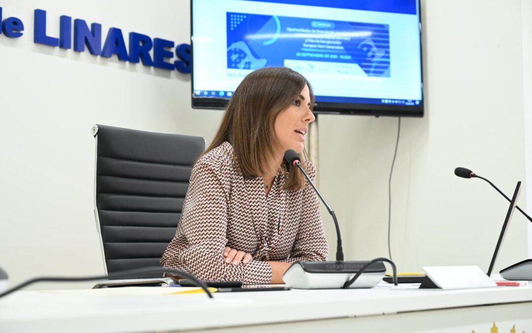 Las empresas de Linares conocerán las oportunidades europeas de financiación