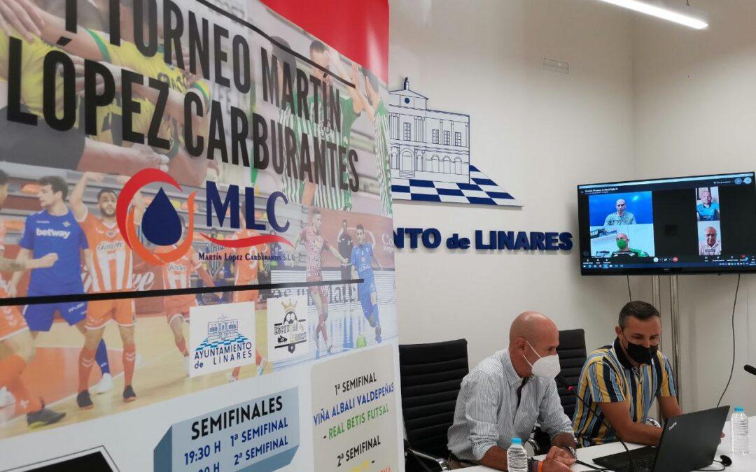 Linares acogerá el I Torneo Martín López Carburantes de Fútbol Sala