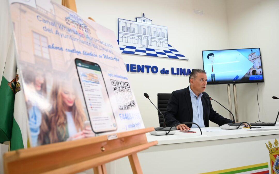 Linares habilita un canal de whatsapp para avisar de incidencias