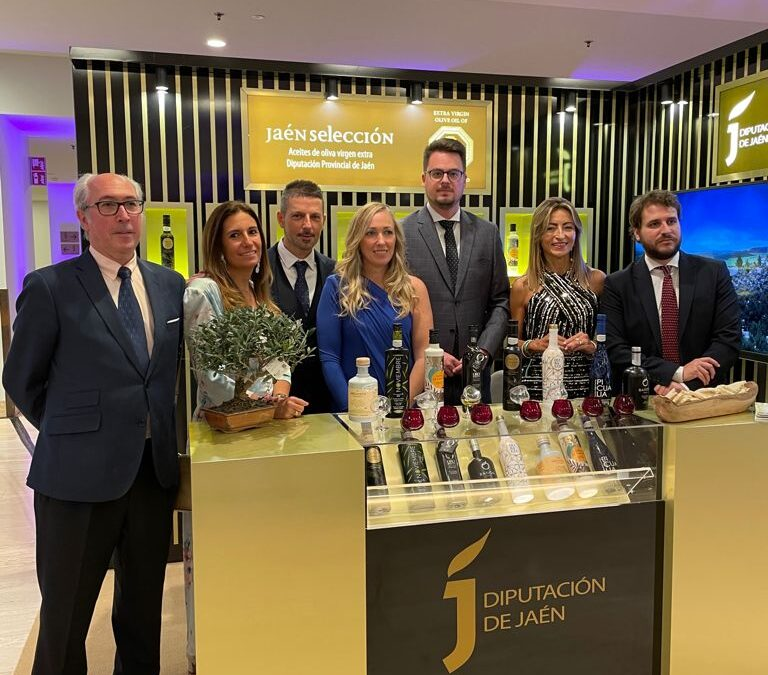 Los AOVE Jaén Selección, en la gala The 50 Best Restaurants