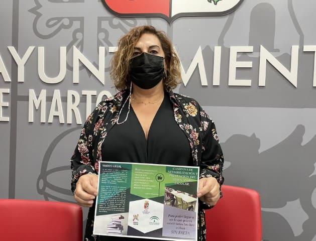 Martos inicia una campaña para prevenir el absentismo escolar