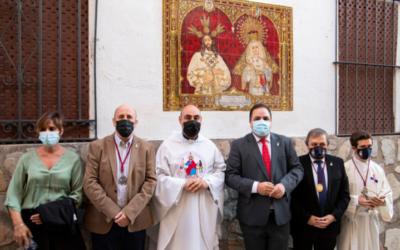 Azulejo conmemorativo del 75 Aniversario de la Hermandad Cautivo y Trinidad de Martos