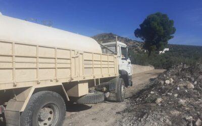 La Bobadilla asume con fondos propios el arreglo de sus caminos rurales