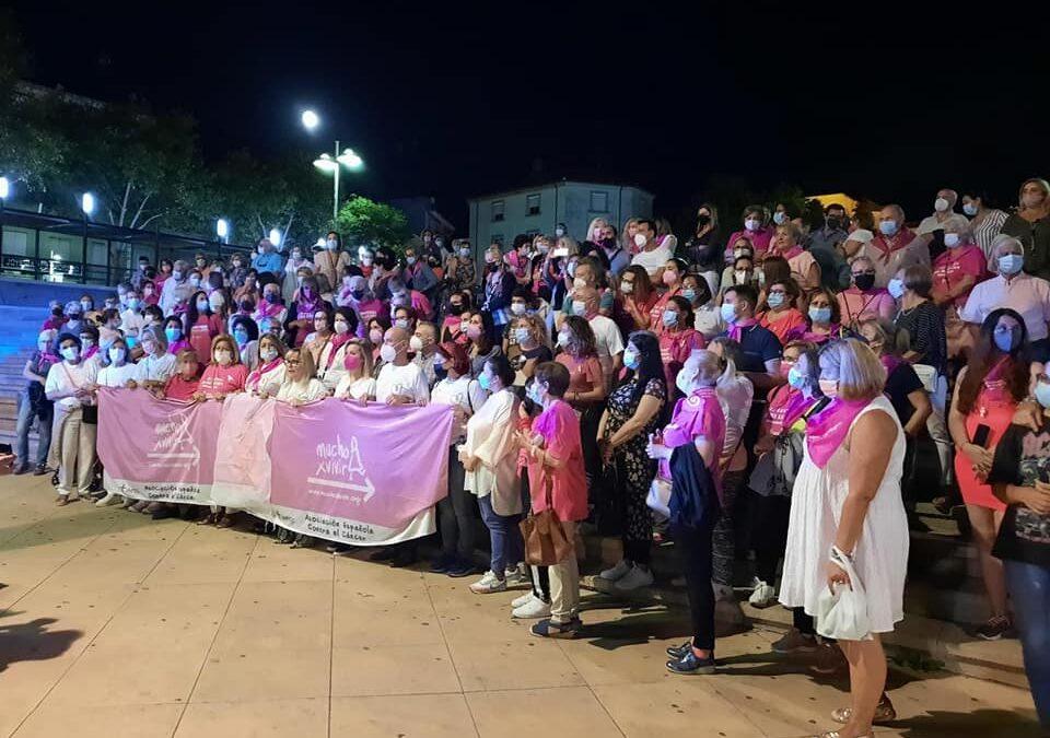 Linares se movilizó contra el cáncer de mama