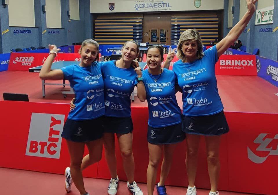 El Tecnigen Linares pasa a la siguiente fase de la ETTU Cup Women