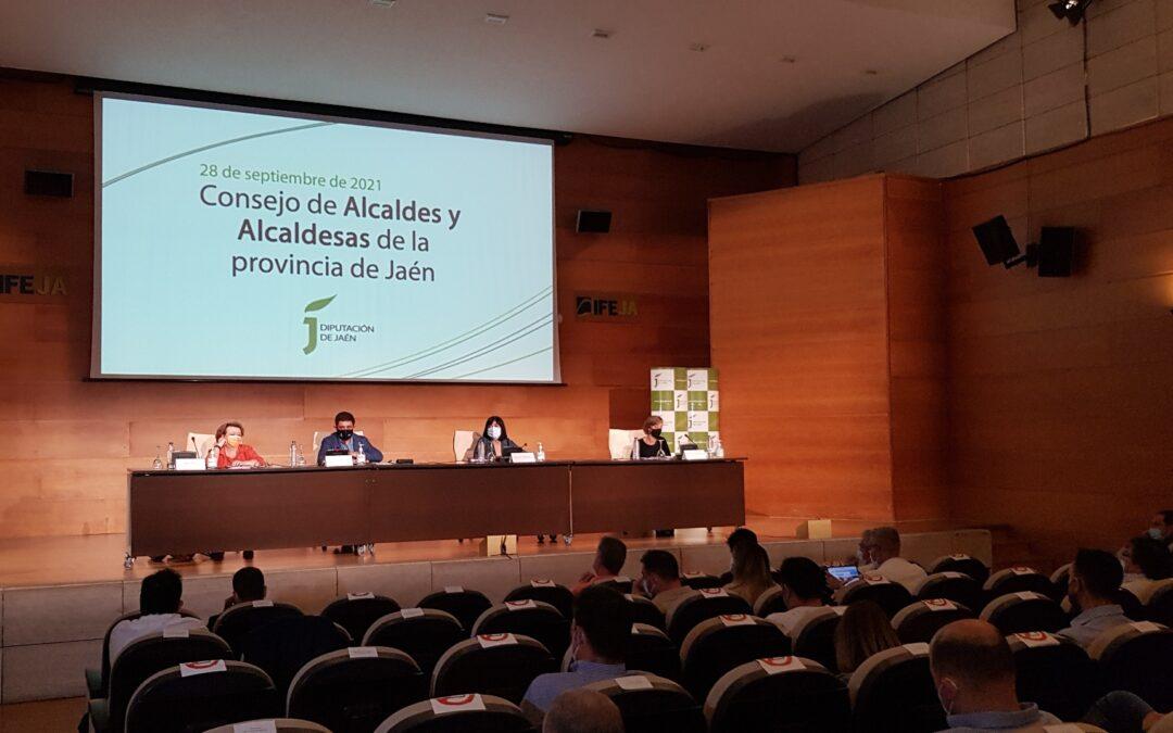 El Consejo de Alcaldes y Alcaldesas aprueba un Plan de Diputación de 8,1 millones del que Arjona recibirá 105.000 euros