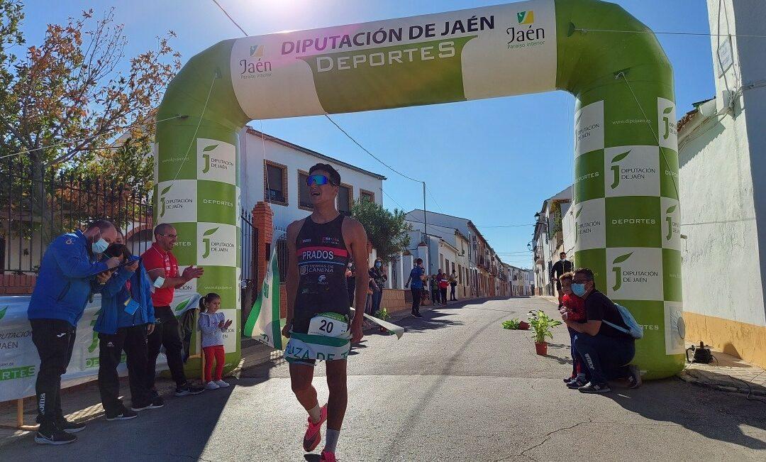 Fran Prados y Rocío Espada ganadores absolutos del Duatlón Cros Balneario de Marmolejo