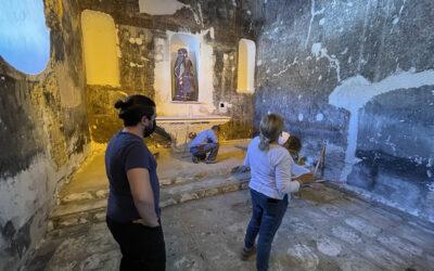 Alcaudete excava el suelo de la Capilla de Santa Catalina