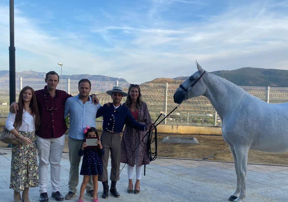 La yeguada Torres gana el XXXI Campeonato de Andalucía de Caballos de Pura Raza Española en la categoría S11