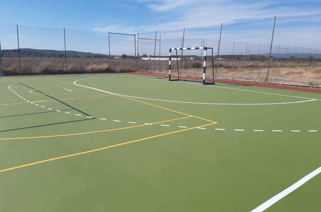 Mejora de las instalaciones deportivas en la localidad